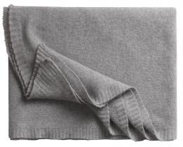 Кашемировый плед Biella 2 (серый)
