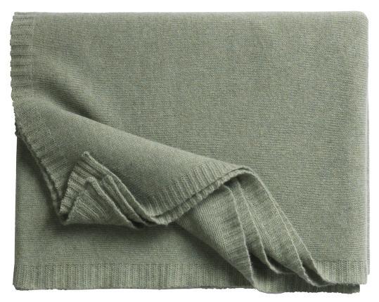 Кашемировый плед Biella 5 (цвет хаки) производства Eagle Products купить в онлайн магазине beau-vivant.com