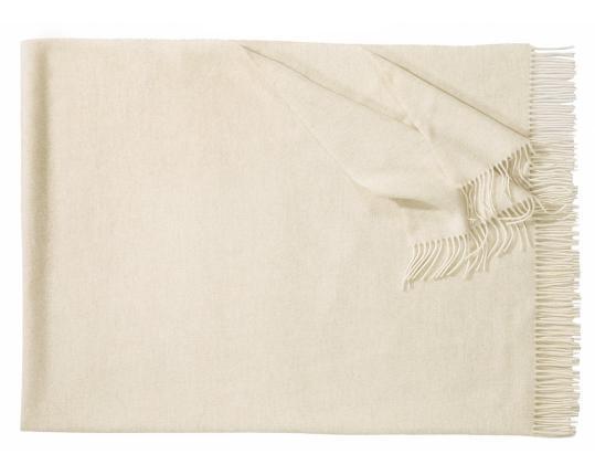 Плед из шерсти ягнёнка Boston (белый) производства Eagle Products купить в онлайн магазине beau-vivant.com