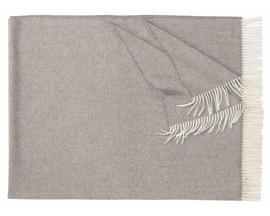 Плед из шерсти ягнёнка Boston (серый)  производства Eagle Products купить в онлайн магазине beau-vivant.com
