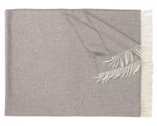 Плед из шерсти ягнёнка Boston (серый)