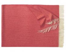 Плед из шерсти ягнёнка Boston (красный)