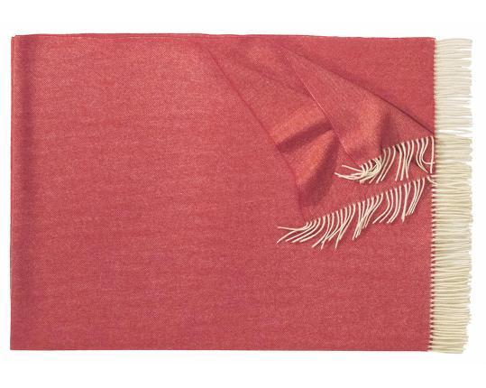 Плед из шерсти ягнёнка Boston (красный) производства Eagle Products купить в онлайн магазине beau-vivant.com