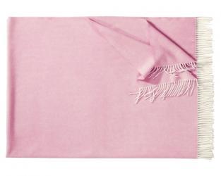 Плед из шерсти ягнёнка Boston (светло-розовый)