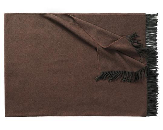 Плед из шерсти ягнёнка Boston (коричневый) производства Eagle Products купить в онлайн магазине beau-vivant.com
