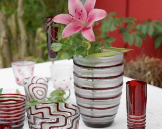 Вазы из цветного хрусталя на заказ - Rotter Glas производства Rotter Glas купить в онлайн магазине beau-vivant.com
