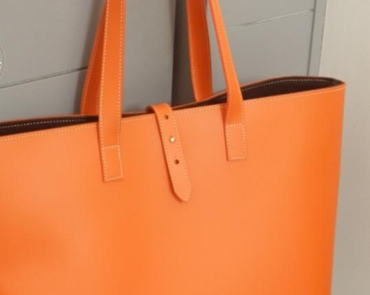Сумка Cabas Grand Orange  производства MIDIPY купить в онлайн магазине beau-vivant.com