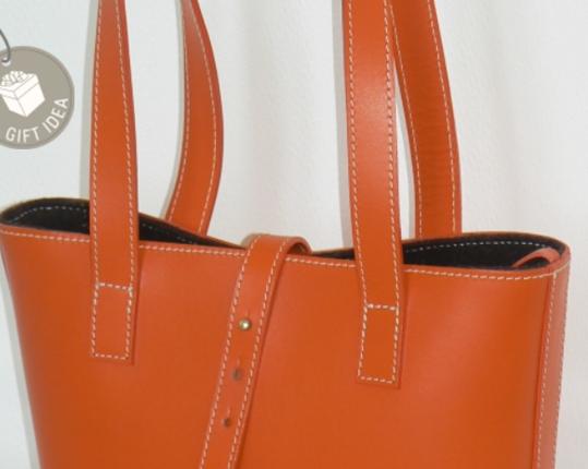 Сумка Cabas Petit Orange производства MIDIPY купить в онлайн магазине beau-vivant.com
