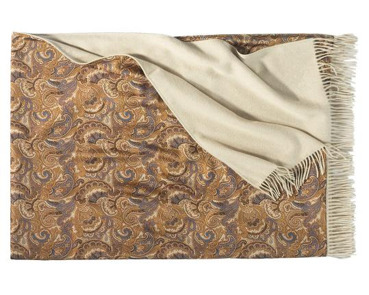 Двухсторонний плед Como 602/226 (шёлк и кашемир) производства Eagle Products купить в онлайн магазине beau-vivant.com