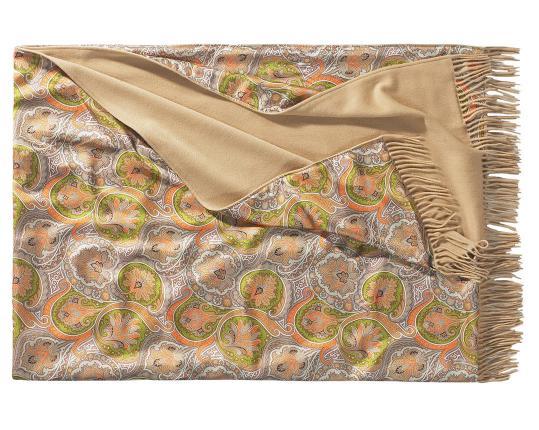 Двухсторонний плед Como 604/261 (шёлк и кашемир) производства Eagle Products купить в онлайн магазине beau-vivant.com