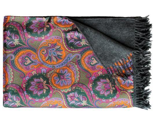 Двухсторонний плед Como 630/259 (шёлк и кашемир) производства Eagle Products купить в онлайн магазине beau-vivant.com