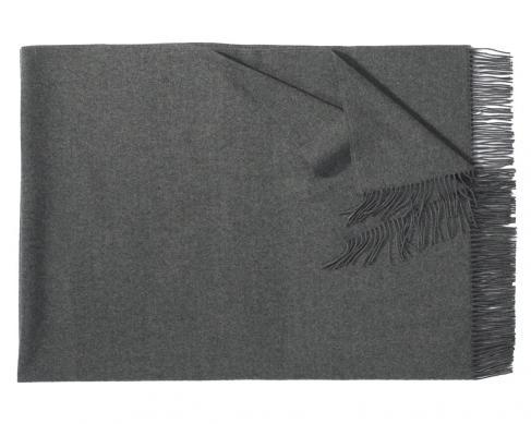 Плед из шерсти Corsica (тёмно-серый)