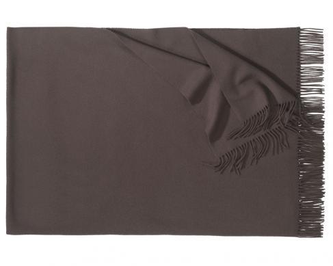 Плед из шерсти Corsica (тёмно-коричневый)