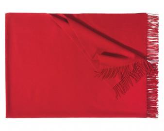 Плед из шерсти Corsica (красный)