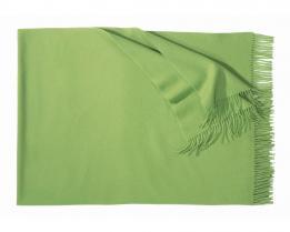 Плед из шерсти Corsica (зелёный)