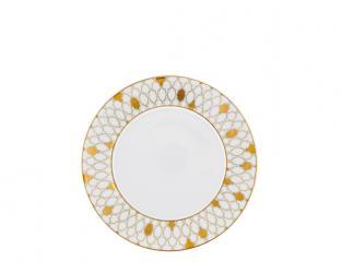 Тарелка десертная Auréole Dorée 24 см