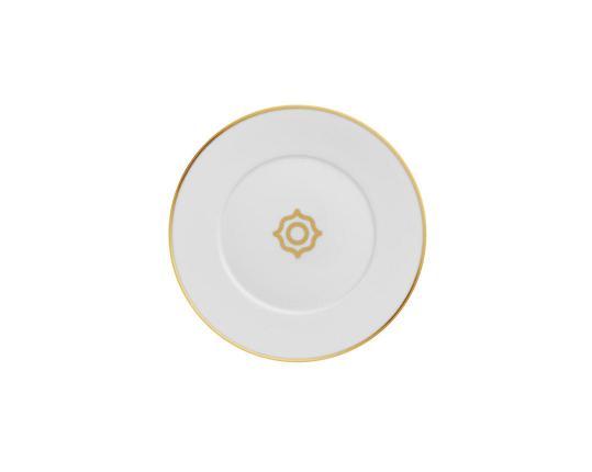Тарелка пирожковая Carlo Oro 16 см производства Fürstenberg купить в онлайн магазине beau-vivant.com
