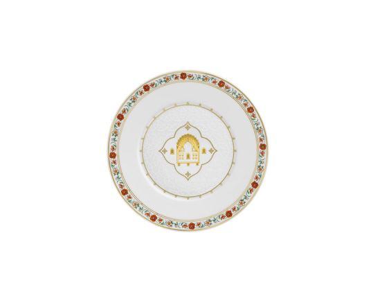 Тарелка пирожковая Rajasthan6 16 см производства Fürstenberg купить в онлайн магазине beau-vivant.com