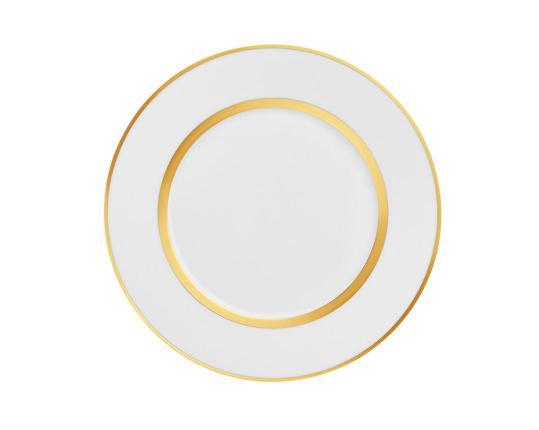 Тарелка десертная Carlo Oro 23 см производства Fürstenberg купить в онлайн магазине beau-vivant.com