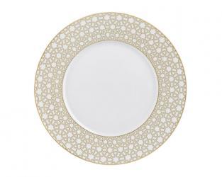 Тарелка десертная Rajasthan с рельефным орнаментом 23 см