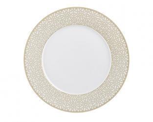 Тарелка обеденная с рельефным орнаментом Rajasthan 29 см