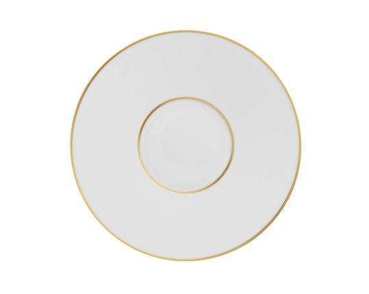 Тарелка гурме Carlo Oro 23 см производства Fürstenberg купить в онлайн магазине beau-vivant.com