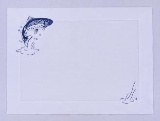 Подложка под столовые приборы Forelle 51 x 38 см, 6 шт