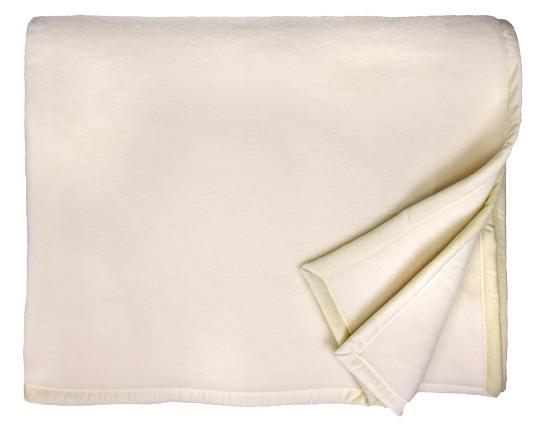 Шерстяной плед Genf (цвета натуральной шерсти) производства Eagle Products купить в онлайн магазине beau-vivant.com