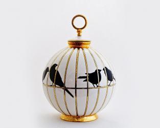 Шарообразная ваза Les Inséparables 26 см