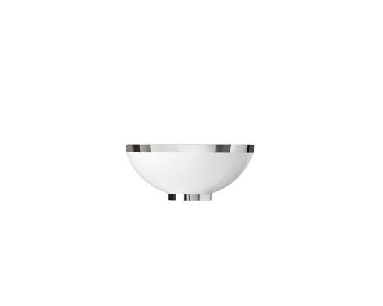 Чаша закругленная Treasure Platinum 11,5 см производства Sieger by Fürstenberg купить в онлайн магазине beau-vivant.com