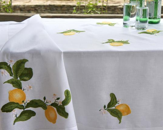 Скатерть Zitrone 180 x 300 см производства ERI Textiles купить в онлайн магазине beau-vivant.com