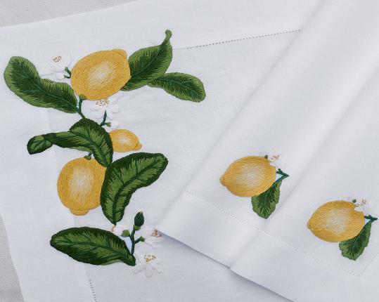 Скатерть Zitrone 170 x 270 см производства ERI Textiles купить в онлайн магазине beau-vivant.com