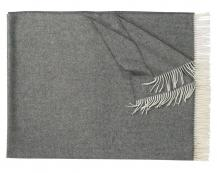 Плед из шерсти ягнёнка Locarno (антрацит)