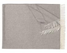 Плед из шерсти ягнёнка Locarno (серый)
