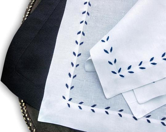 Набор салфеток Marie Blau 6 шт производства ERI Textiles купить в онлайн магазине beau-vivant.com