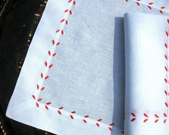 Набор салфеток Marie Rot 6 шт производства ERI Textiles купить в онлайн магазине beau-vivant.com
