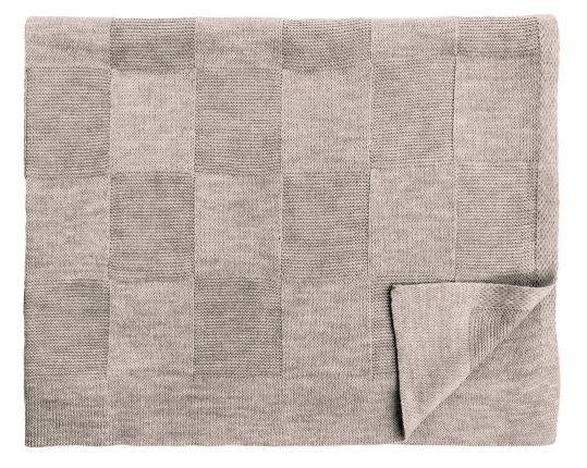 Шерстяной серо-коричневый детский плед Moritz  производства Eagle Products купить в онлайн магазине beau-vivant.com