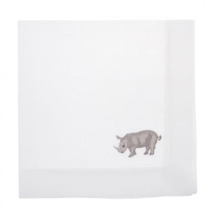 Салфетка Africa, Rhinoceros 1 шт производства ERI Textiles купить в онлайн магазине beau-vivant.com