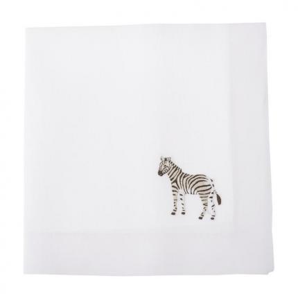 Салфетка Africa, Zebra 1 шт производства ERI Textiles купить в онлайн магазине beau-vivant.com