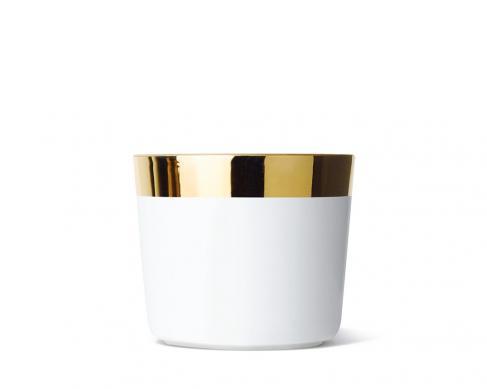 Кубок для шампанского Sip of Gold White Plain
