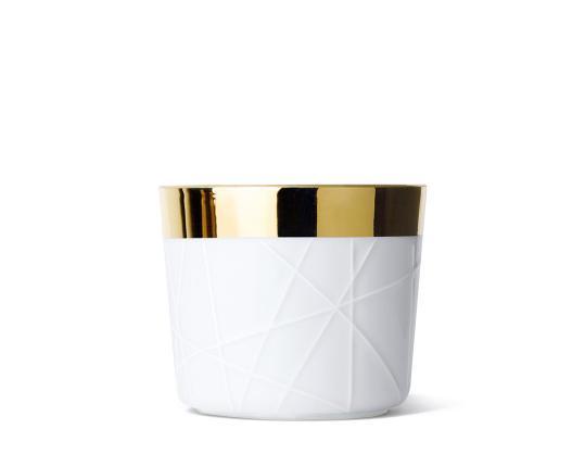 Кубок для шампанского Sip of Gold White Woven производства Sieger by Fürstenberg купить в онлайн магазине beau-vivant.com