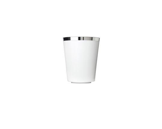 Чашка для кофе коническая Treasure Platinum 200 мл без ручки производства Sieger by Fürstenberg купить в онлайн магазине beau-vivant.com