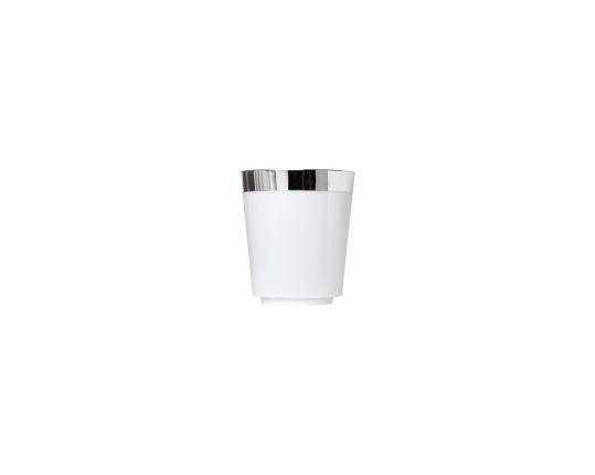 Чашка для эспрессо коническая Treasure Platinum 80 мл без ручки производства Sieger by Fürstenberg купить в онлайн магазине beau-vivant.com