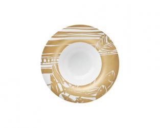 Тарелка глубокая Outline Gold 25 см