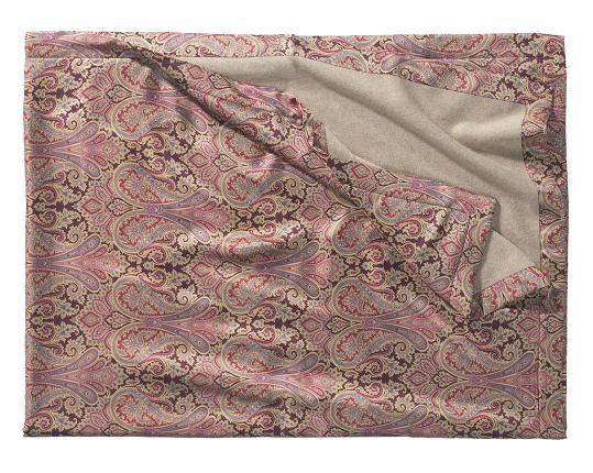 Двухсторонний плед Orient 603/237 (шёлк и кашемир) производства Eagle Products купить в онлайн магазине beau-vivant.com