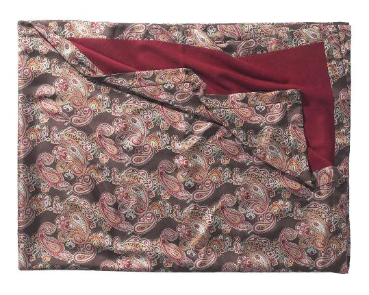 Двухсторонний плед Orient 627/262 (шёлк и кашемир) производства Eagle Products купить в онлайн магазине beau-vivant.com