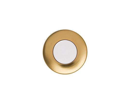 Тарелка десертная Polite Gold 18 см производства Hering Berlin купить в онлайн магазине beau-vivant.com