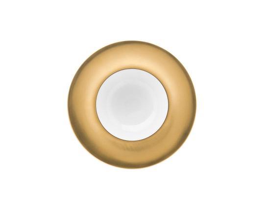 Тарелка глубокая Polite Gold 25 см производства Hering Berlin купить в онлайн магазине beau-vivant.com