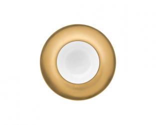 Тарелка глубокая Polite Gold 25 см