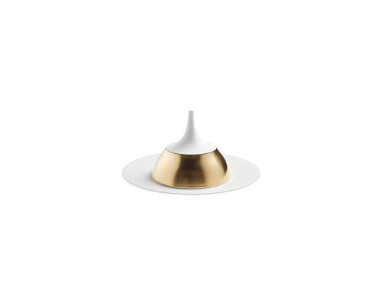 Крышка-клош Polite Gold производства Hering Berlin купить в онлайн магазине beau-vivant.com